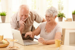 older couple considering a medigap plan
